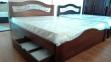 Кровать Лилия (Дуб Щит) 3