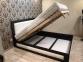 Ліжко Амелія з підйомним механізмом (Бук Масив) 1