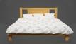 Кровать Ипомея (Бук Масив) 13