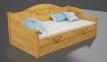 Кровать Барби (Ясень Масив) 25