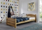 Кровать Мелман (Дуб Масив) 5