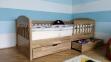 Кровать Арина+ (Ясень масив) 5