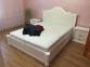 Ліжко Классік з підйомним механізмом (Бук Щит) 7