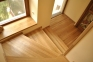Ступень для лестниц дубовая (цельный) 1