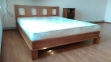 Кровать Алексия (Дуб Щит) 5