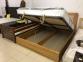 Ліжко Верона з підйомним механізмом (Бук Щит) 1