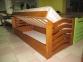 Ліжко Міккі Маус з підйомним механізмом(Бук Масив) 2