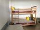Ліжко Двоярусне (Бук щит) 0