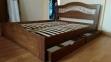 Кровать Лилия (Дуб Щит) 2