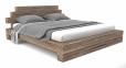 Ліжко Лофт (брус деревянний) 2