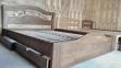 Кровать Лилия (Дуб Щит) 8