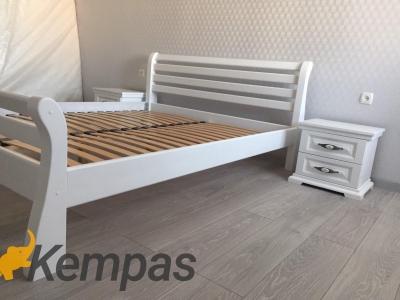 Ліжко Ретро (Дуб Щит)