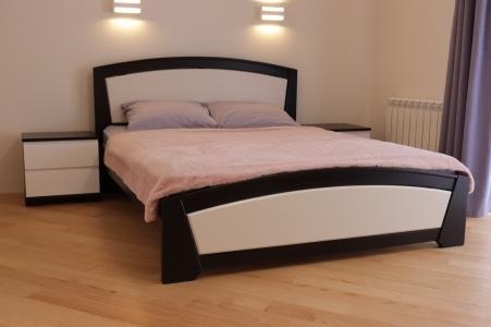 Ліжко Женева (Бук Масив)