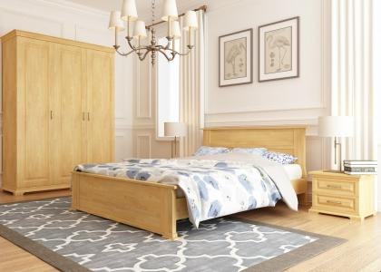 Кровать Магнолия (Бук Щит)
