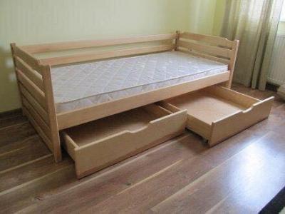 Кровать Котигорошко (Бук Массив)