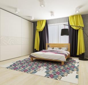 Кровать Ипомея (Ясень Масив)