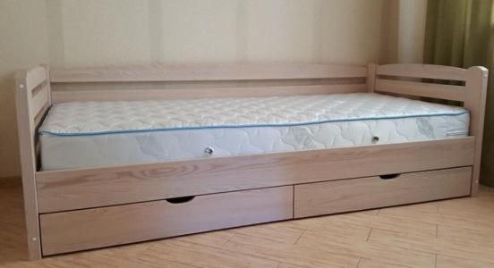 Кровать Мини (Ясень Масив)