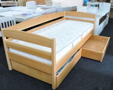 Кровать Нота Плюс (Бук Масив)