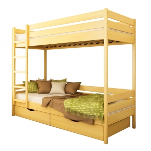 Ліжко Дует (Бук Масив)