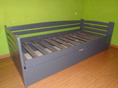 Кровать Карлсон п/м (Бук Массив)