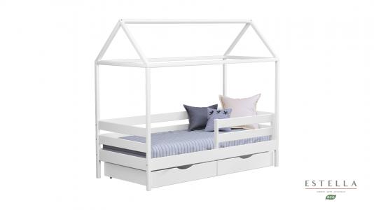Ліжко Будиночок Аммі (Бук Масив)