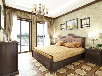 Ліжко Классік з підйомним механізмом (Бук Щит)