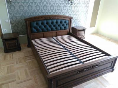 Ліжко Радість Люкс (Дуб Масив)