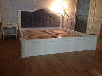 Ліжко Классік (Бук Щит)