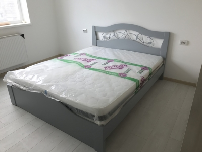 Кровать Лилия (Дуб Щит)