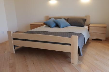 Ліжко двоспальне Каспер (Бук Масив)