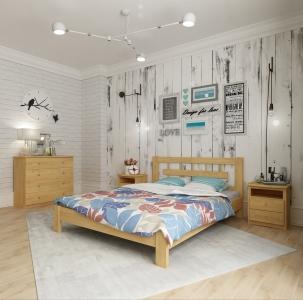 Кровать Такка (Ясень Масив)