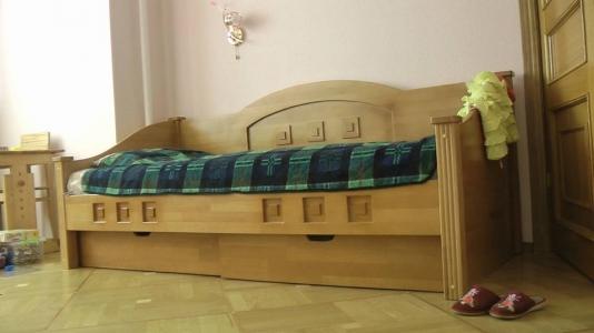 Кровать Греция (Дуб Щит)
