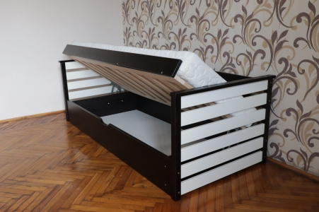 Ліжко Телесик з підйомним механізмом (Бук Масив)