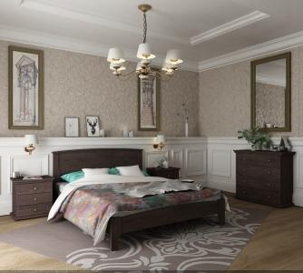 Ліжко Бегонія (Бук Масив)