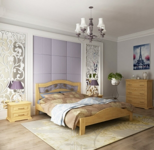 Ліжко Лілія (Дуб Щит)