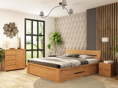Кровать Джакоб (Дуб Масив)