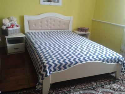 Кровать Лилия ультра (Дуб Щит)