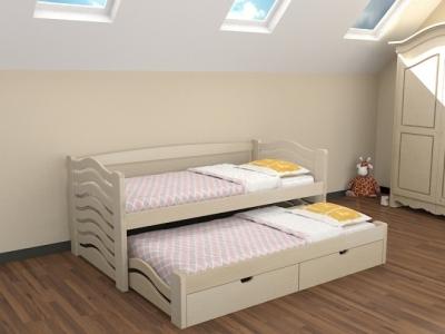 Кровать Мальвина (Бук Массив)