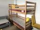 Ліжко Двоярусне (Бук щит)